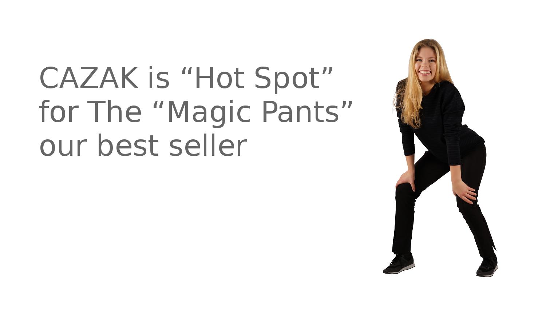"""CAZAK is """"Hot Spot"""""""
